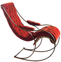 Cooper Iron Rocking Chair