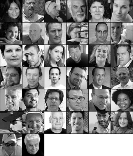 The contributors to Deconstructing Product Design