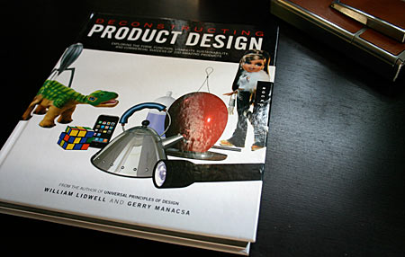 front cover of Deconstructing Product Design, in print